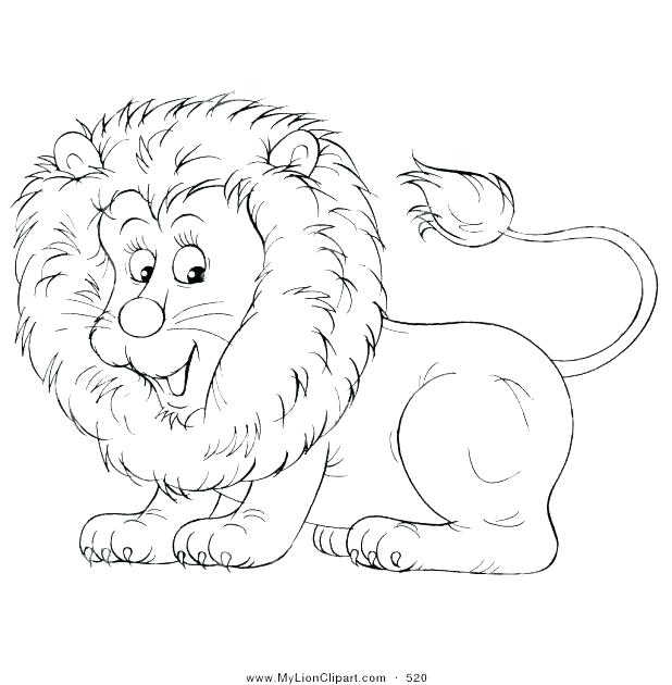 618x630 Baby Lion Coloring Pages Lion Color Sheet Awesome Lion Color Page