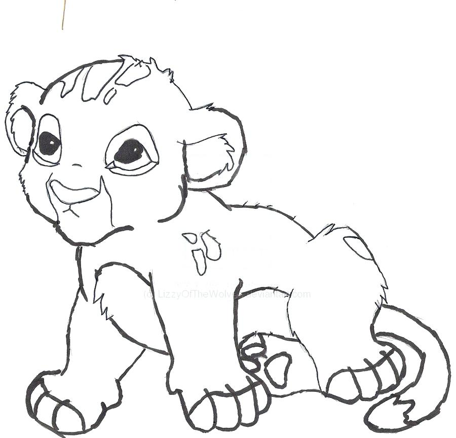 900x864 Baby Lion Coloring Pages Lion Colouring Pictures Baby Lion