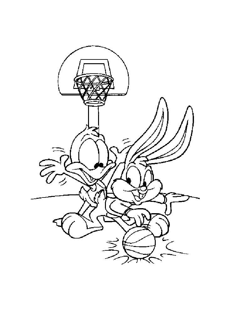 750x1000 Baby Looney Tunes Coloring Pages Download And Print Baby Looney