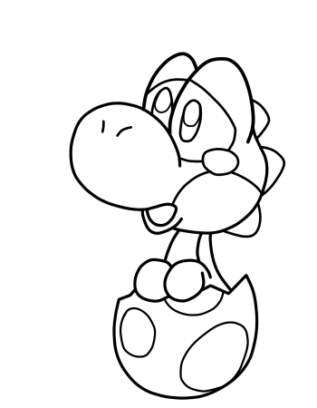 350x450 Baby Mario And Baby Luigi And Baby Peach And Baby Daisy Coloring