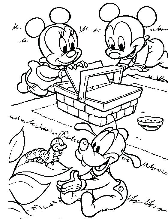 560x728 Mickey Mouse Baby Coloring Pages Clever Design Mickey Mouse Mouse