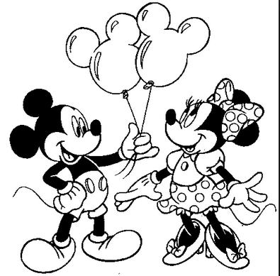 395x389 Mickey Mouse Coloring Pages For Kids Creativity Coloring Book