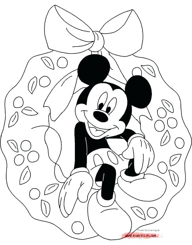 618x790 Mickey Mouse And Friends Coloring Pages