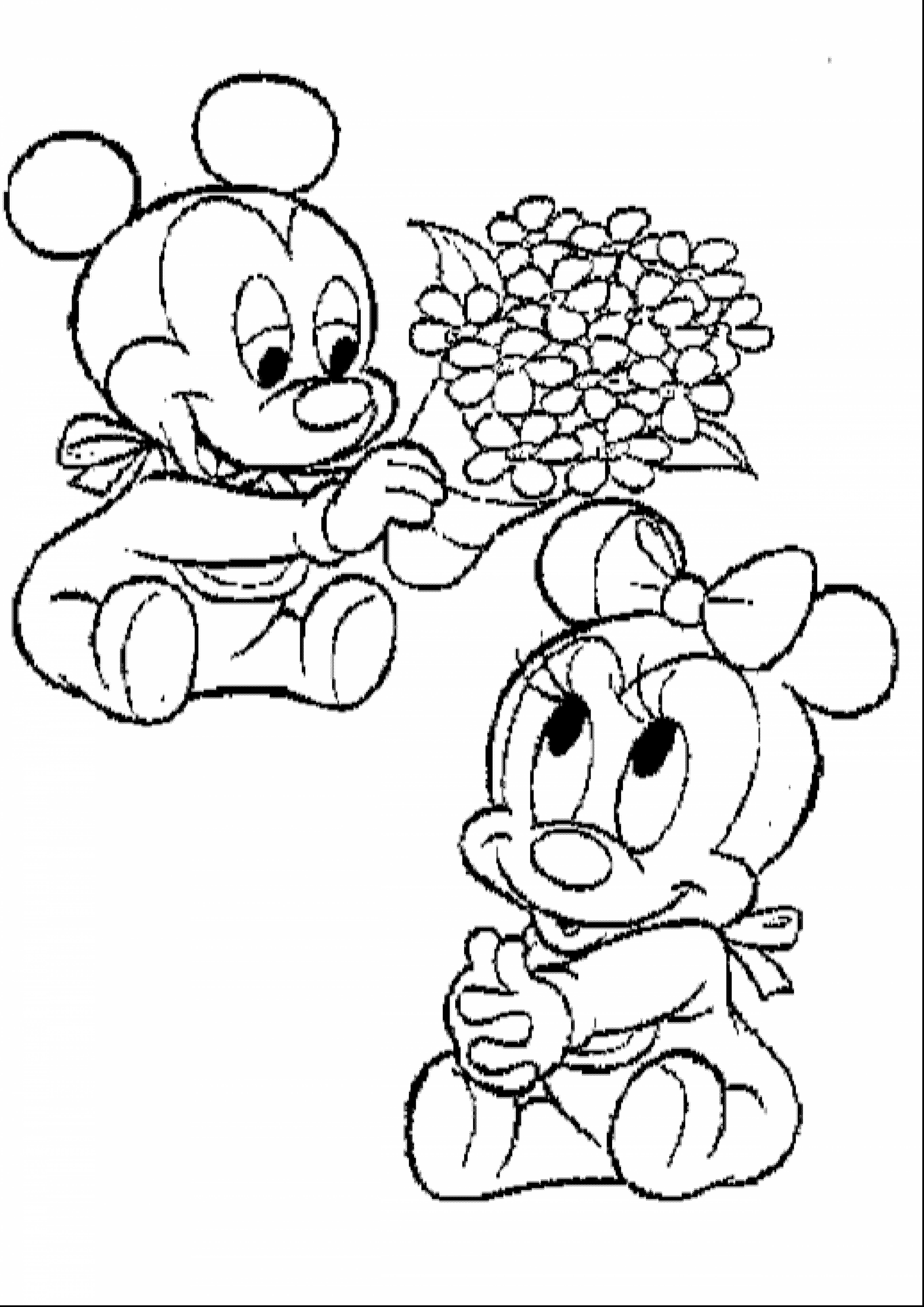 5456x7716 Baby Minnie Mouse Coloring Pages Getcoloringpages Collection