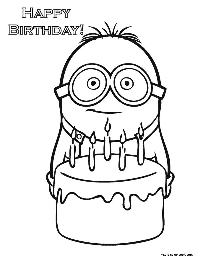 670x867 Best Minions Coloring Pages Free Images On Minion