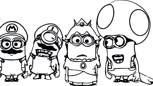 585x329 Minion Coloring Pages Minion Coloring Pages Coloring Book Baby