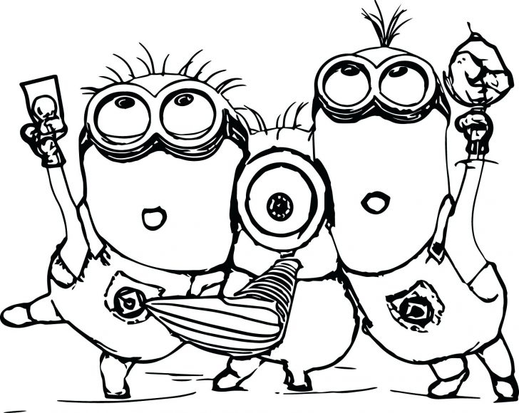 728x580 Two Rainforest Bird Coloring Page Despicable Me Minions Pages