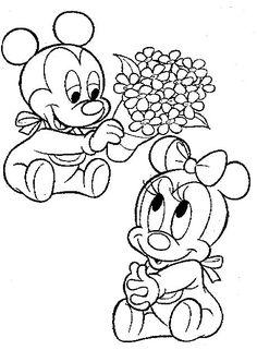 236x332 Disney Babies Printable Coloring Pages Disney Coloring Book