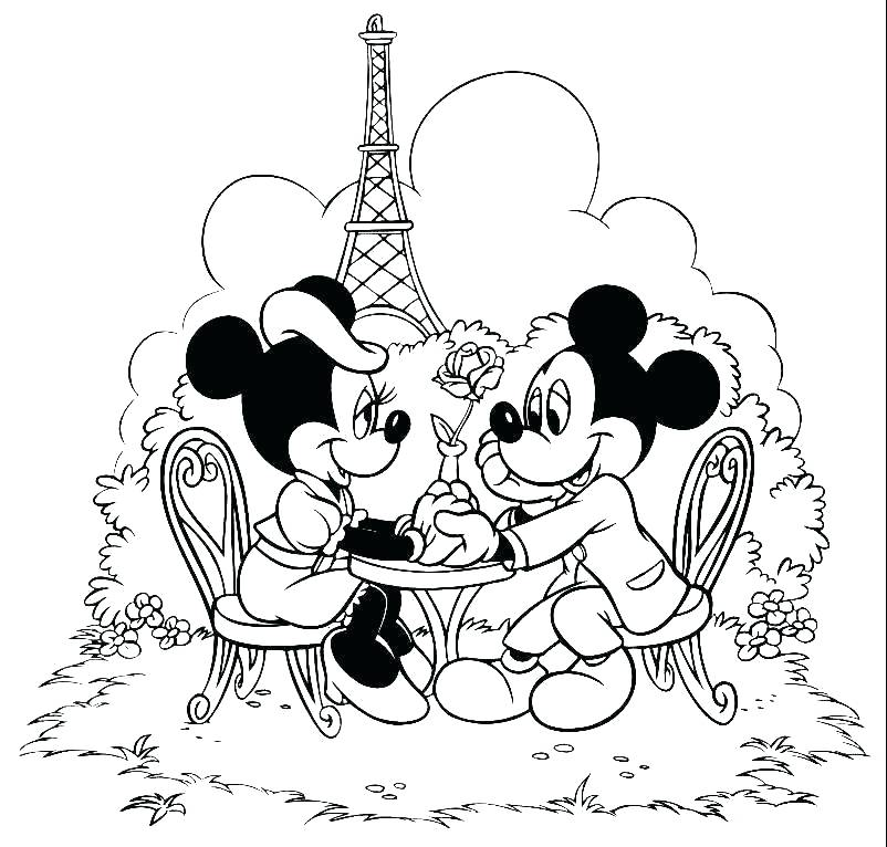 802x766 Baby Coloring Pages Printable Baby Coloring Baby Mickey Mouse