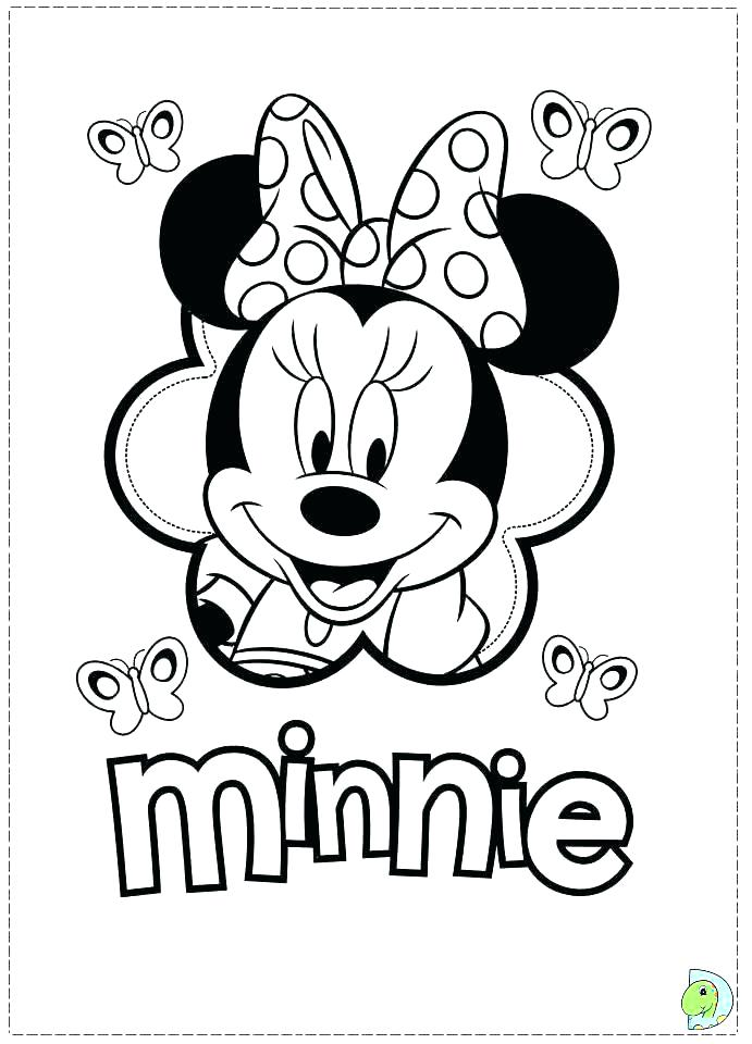 691x960 Minnie Coloring Pages Mouse Coloring Page Mouse Coloring Picture