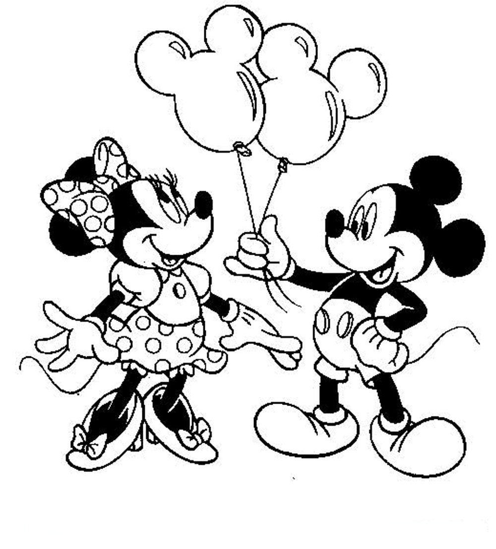 1000x1106 Baby Minnie Mouse Coloring Page Wagashiya