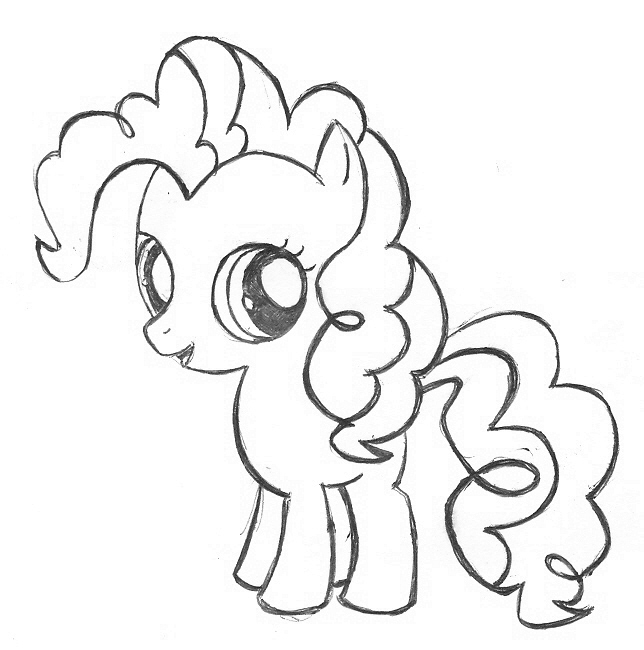 Baby My Little Pony Coloring Pages At Getdrawings Free Download