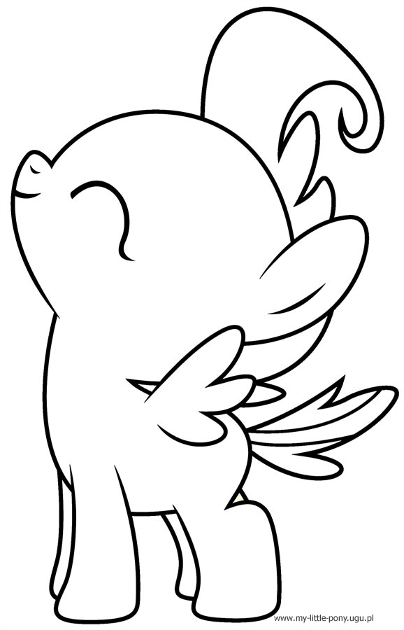 Baby My Little Pony Coloring Pages At Getdrawings Com Free For