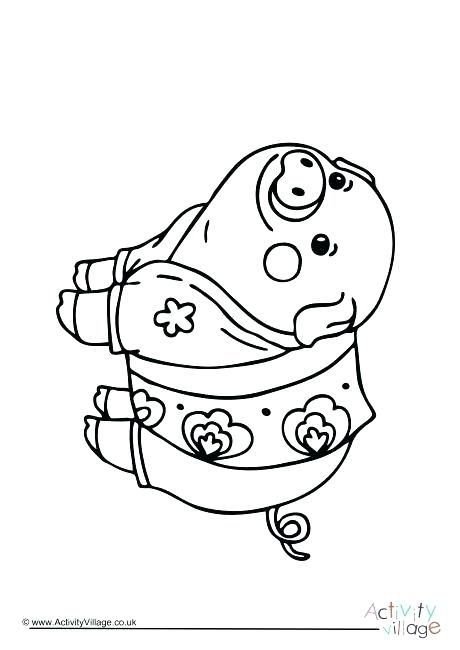 460x650 Guinea Pig Coloring Page Pig Colouring Pages New Year Pig