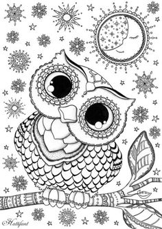 Baby Owl Coloring Pages At Getdrawingscom Free For Personal Use