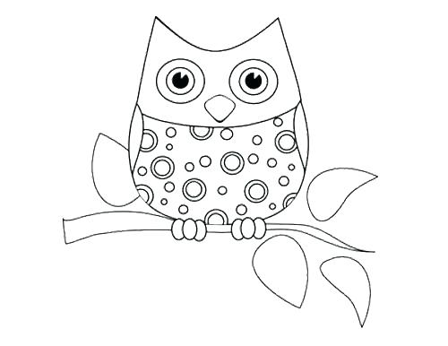 500x386 Cute Owl Coloring Page Cute Coloring Pages For Adults Together
