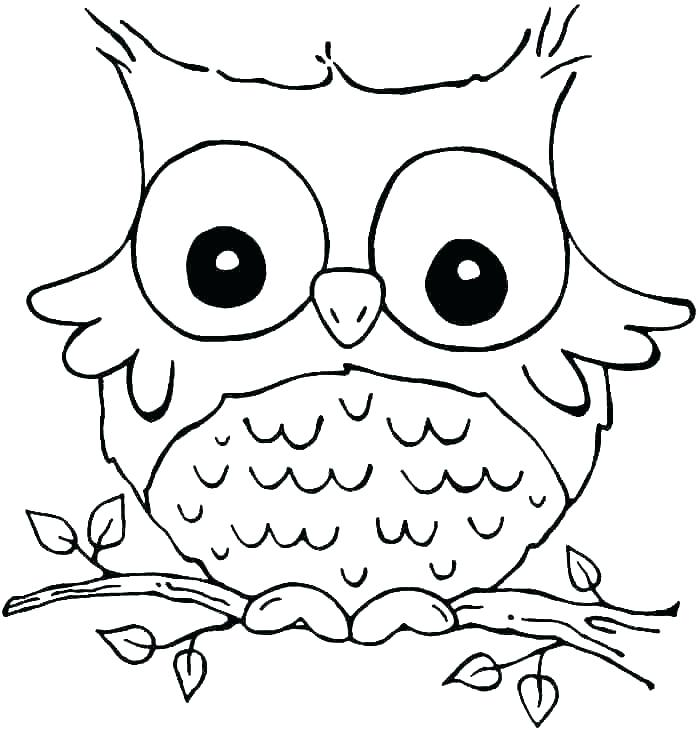 700x734 Printable Baby Owl Coloring Pages Printable Coloring Owl Coloring