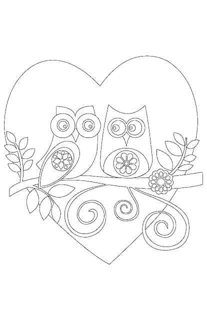 414x640 Cartoon Owl Coloring Pages Owl Coloring Pages Coloring Pages Owl