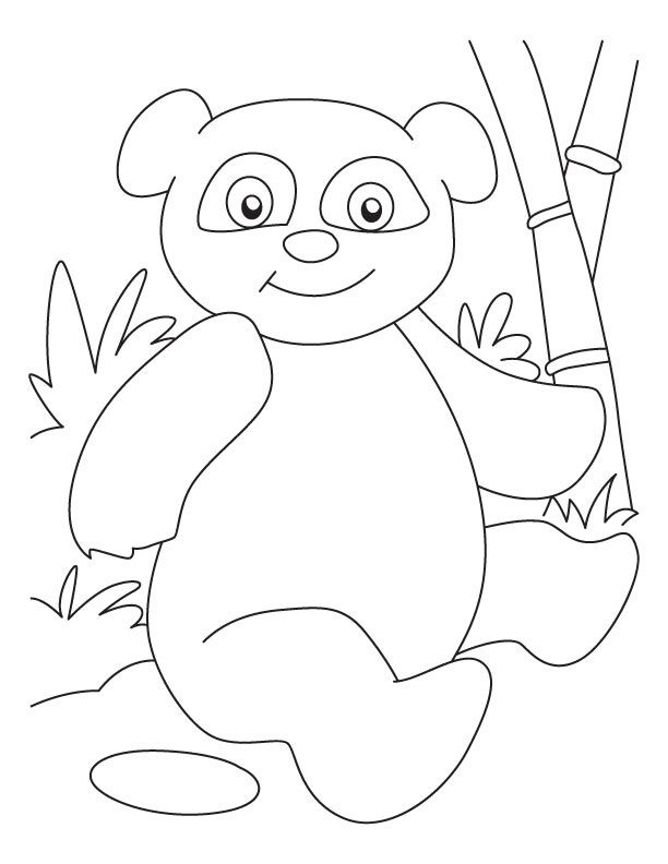 612x792 Panda Coloring Pages Lovely Baby Panda Coloring Pages Coloring