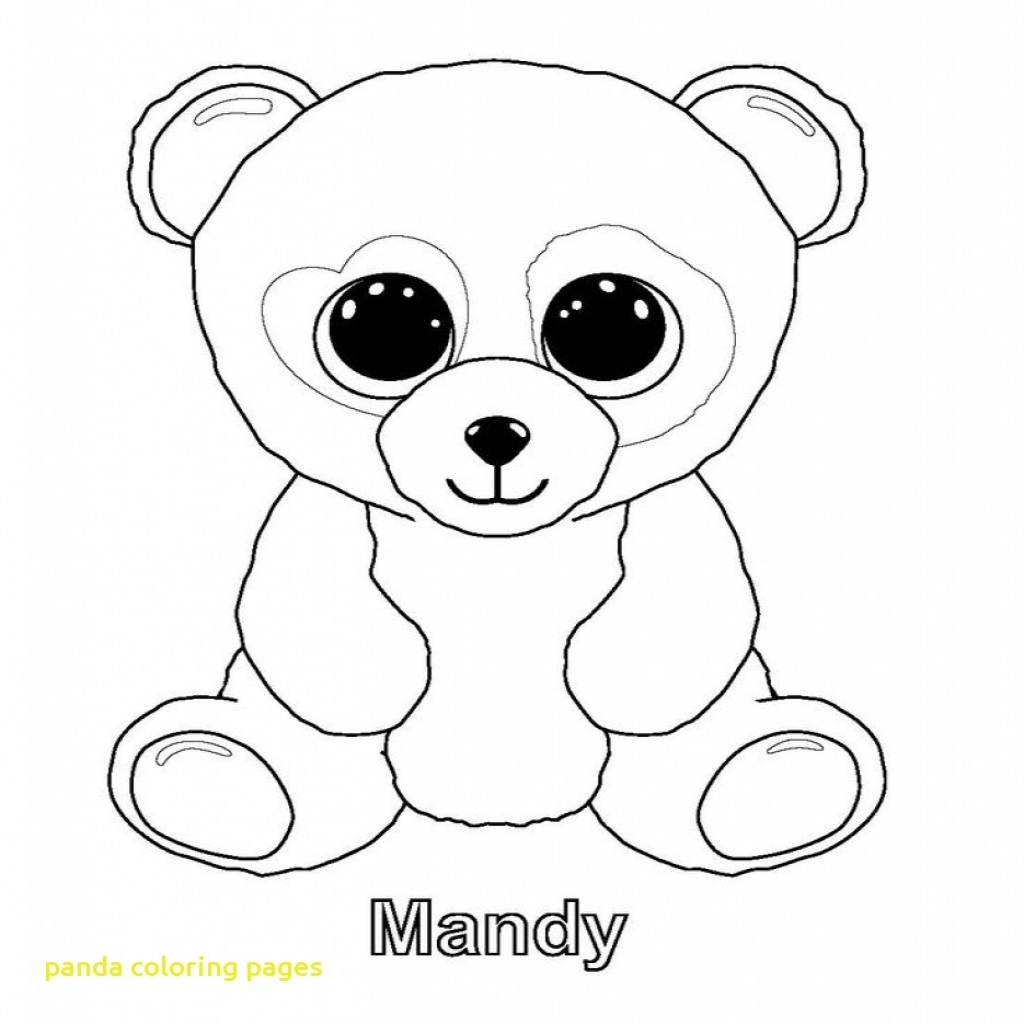 1024x1024 Panda Coloring Pages With Ba Panda Coloring Pages For Kids