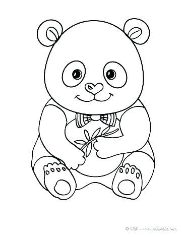 363x470 Baby Panda Coloring Pages Cute Panda Coloring Pages Coloring Pages