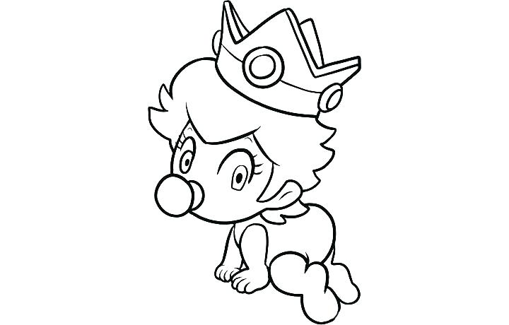 720x460 Daisy Coloring Pages Princess Peach Coloring Pages Super Bros