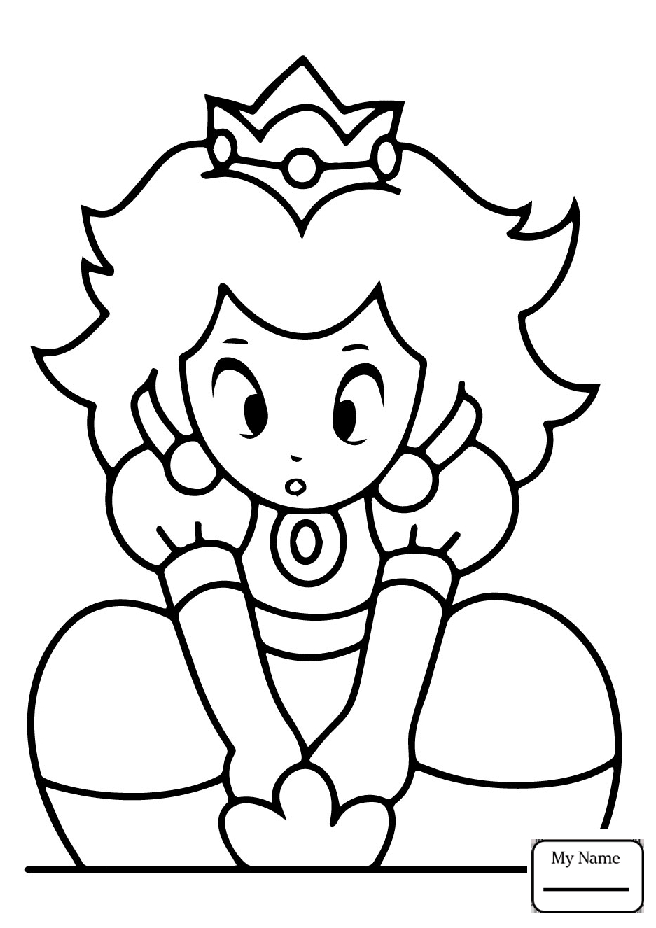 937x1326 Fresh Princess Peach Coloring Pages Gallery Printable Coloring Sheet
