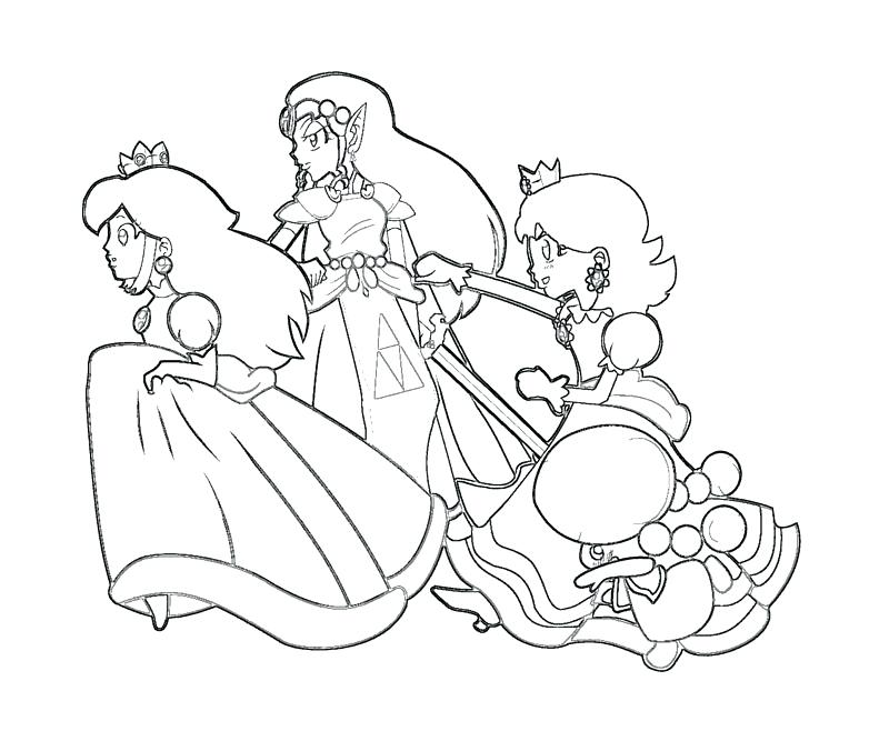 800x667 Awesome Peach Coloring Pages Princess Peach Coloring Page Baby