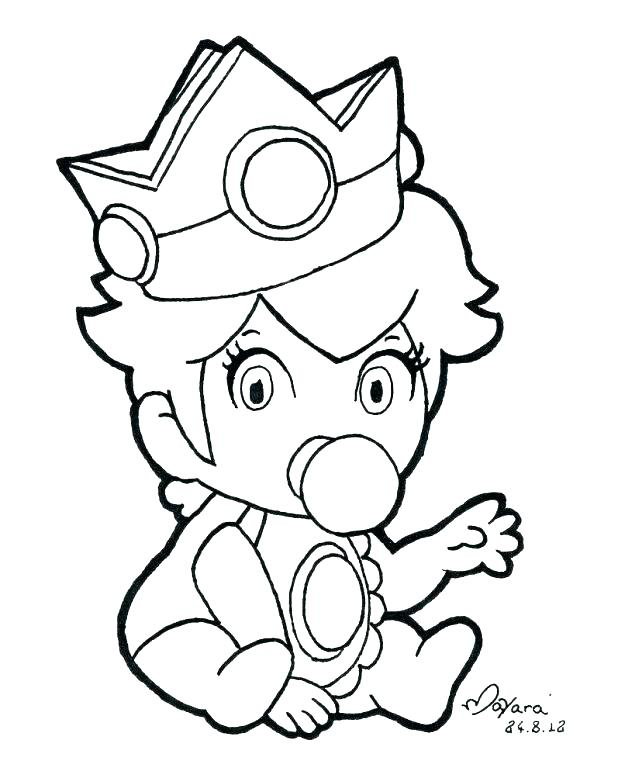 618x778 Princess Peach Coloring Peach Coloring Pages To Print Peach
