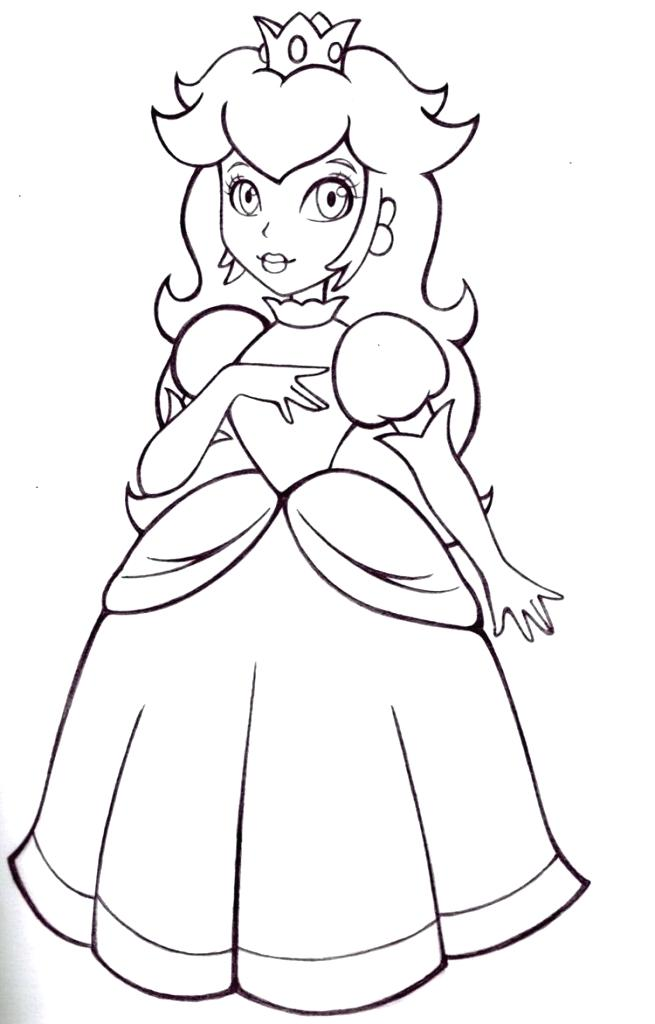 655x1024 Printable Princess Peach Coloring Pages Coloring Me Peach Coloring
