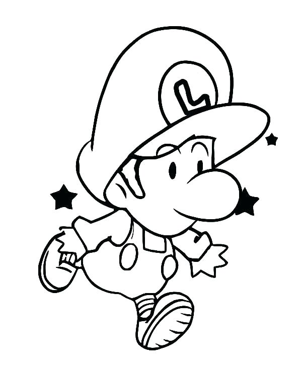600x750 Baby Peach Coloring Pages Baby Coloring Pages To Print Coloring