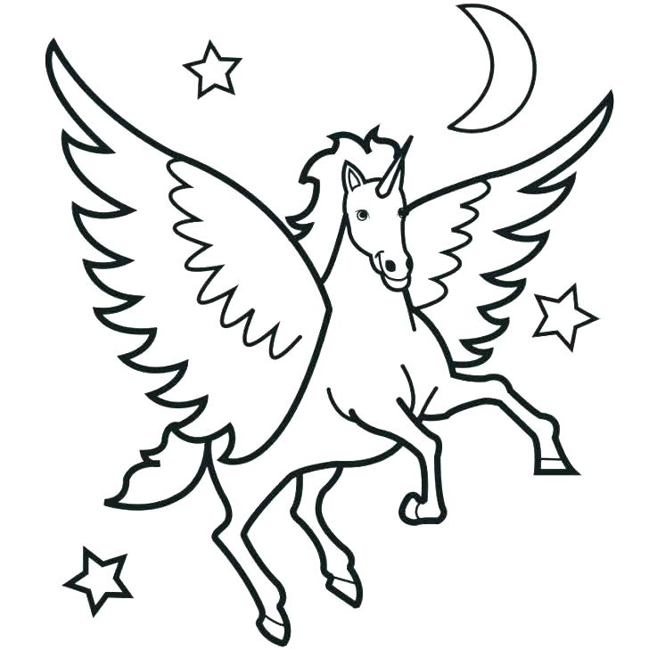 728x728 Pegasus Coloring Pages Baby Coloring Pages Galaxy Pegasus Coloring