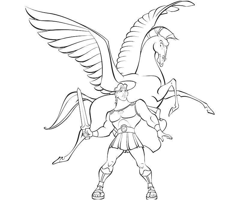 800x667 Awesome Inspiration Ideas Pegasus Coloring Pages To Print