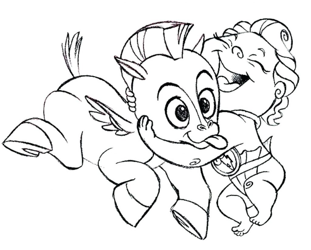 1024x824 Coloring Pages Hercules Coloring Pages Baby Pegasus Hercules