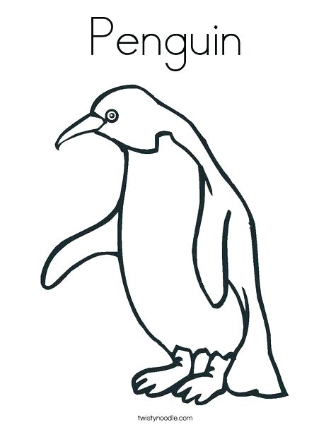 Baby Penguin Coloring Pages At Getdrawings Com Free For Personal