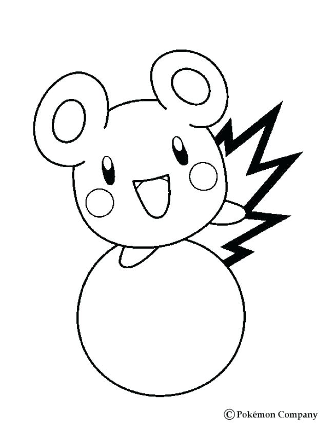 651x850 Cute Coloring Pages Online Baby Pokemon Pa Murs