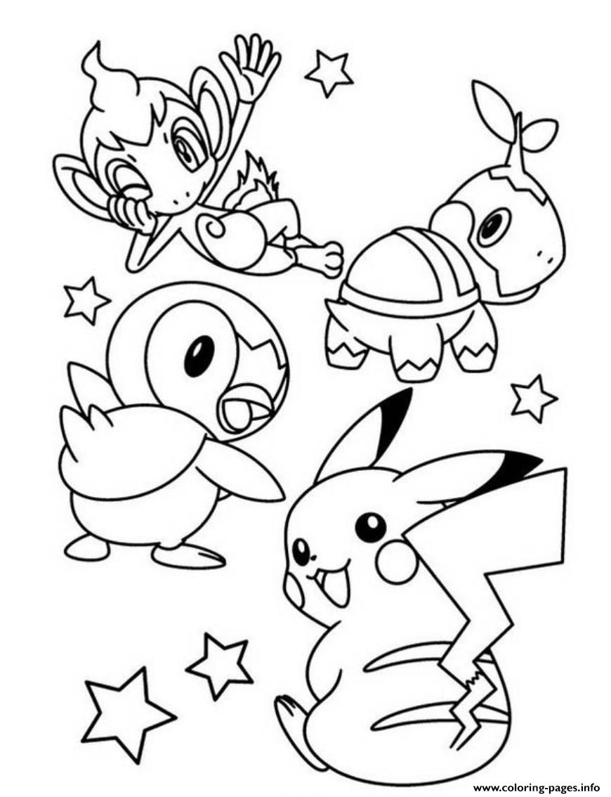 870x1134 Cute Pokemon Pikachu Coloring Pages Printable