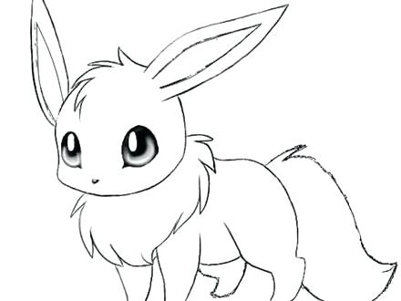 440x330 Cute Baby Pokemon Coloring Pages To Print Cute Coloring Pages