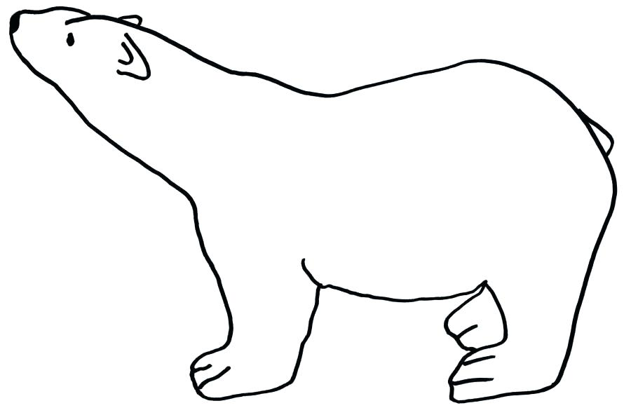 Baby Polar Bear Coloring Pages At Getdrawings Free Download