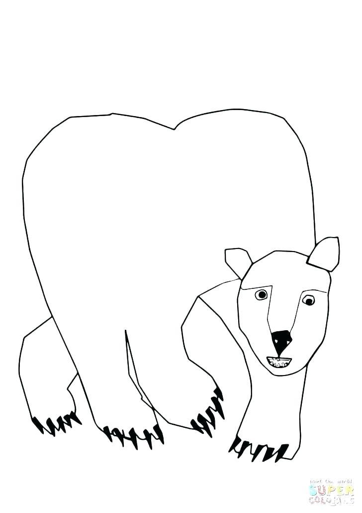 728x1030 Polar Bears Coloring Pages Polar Bear Coloring Pages Polar Bear