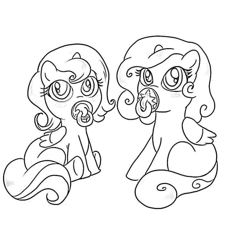 765x765 Baby Pony Coloring Pages My Little Pony Friendship Is Magic Ba