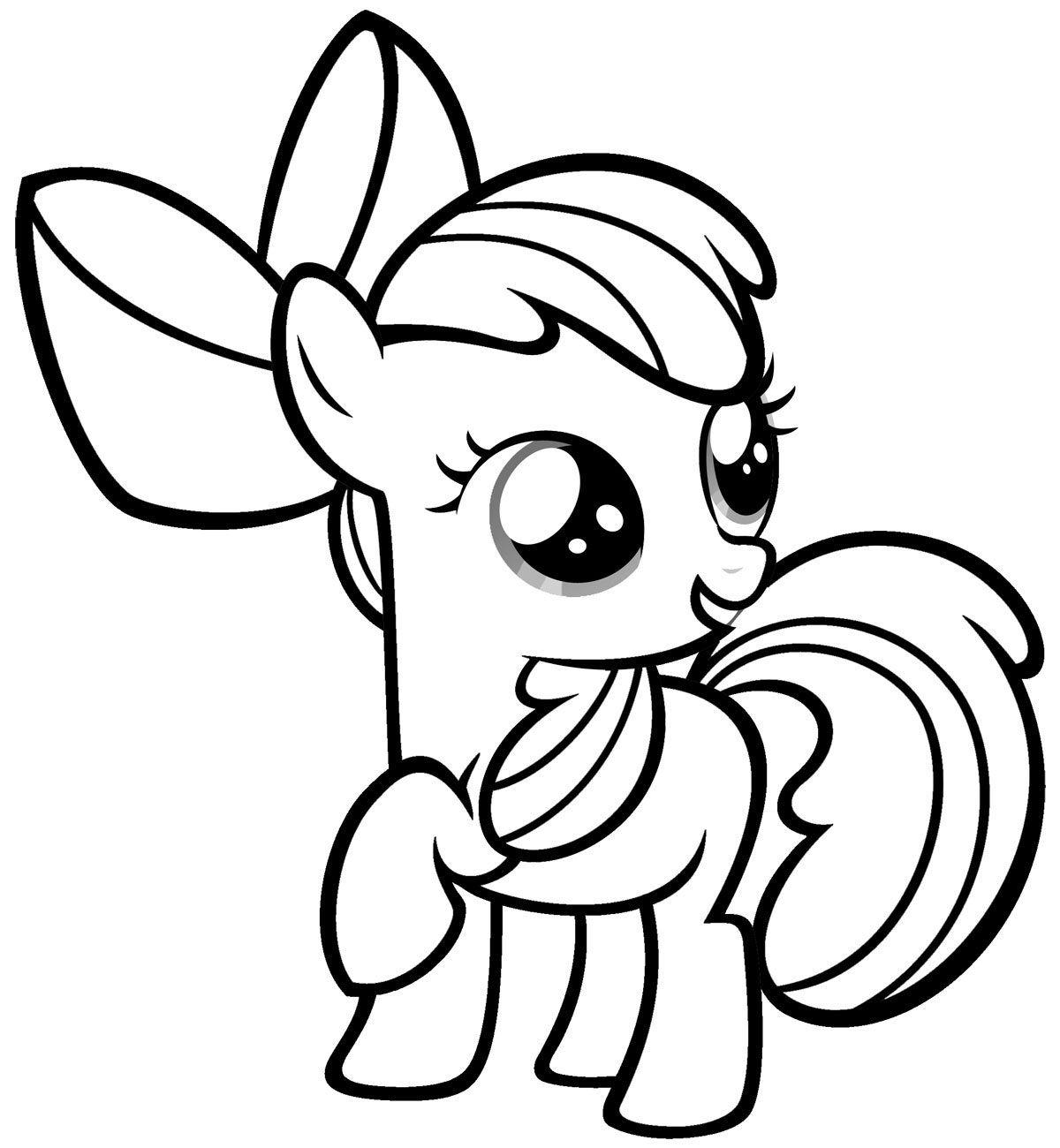 1200x1300 Free Printable My Little Pony Coloring Pages For Kids Colorear