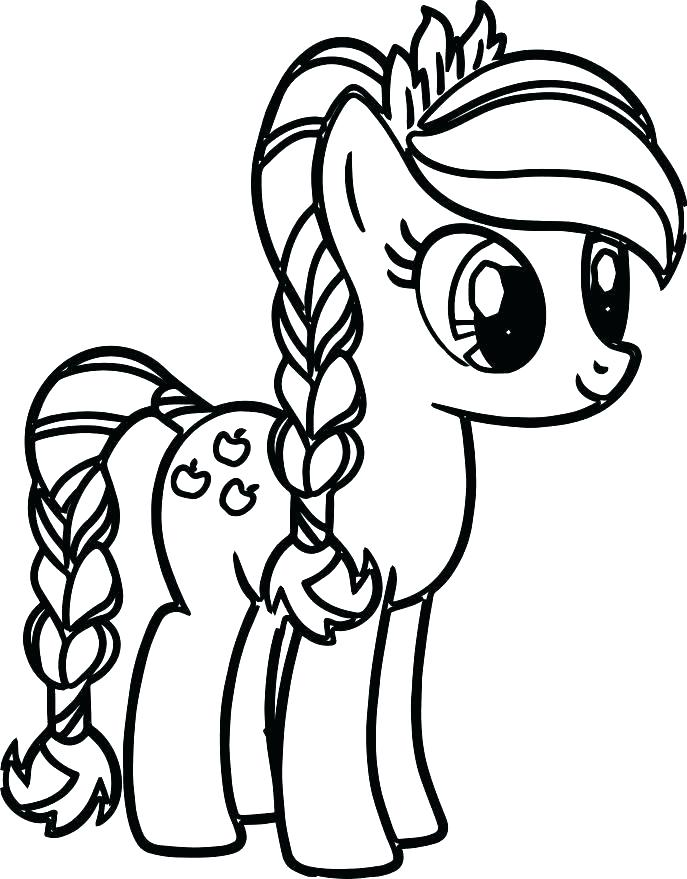 687x879 Baby My Little Pony Coloring Pages Baby Pony Coloring Pages