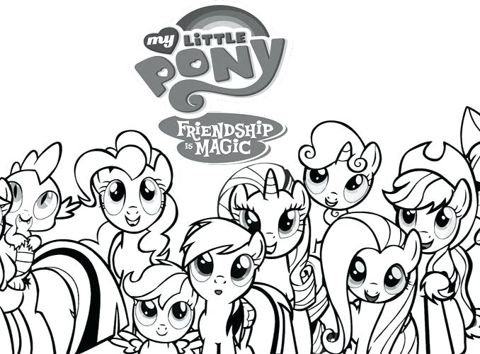 678x500 Little Pony Coloring Pages Icontent