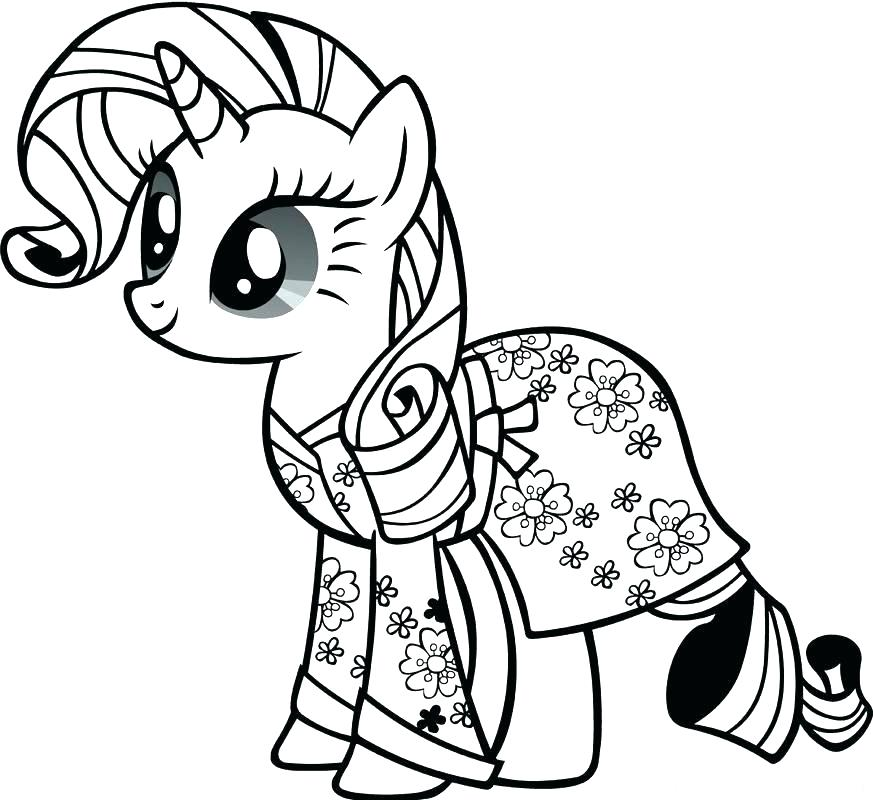 873x800 Baby Pony Coloring Pages Color Pages My Little Pony Drawn Princess
