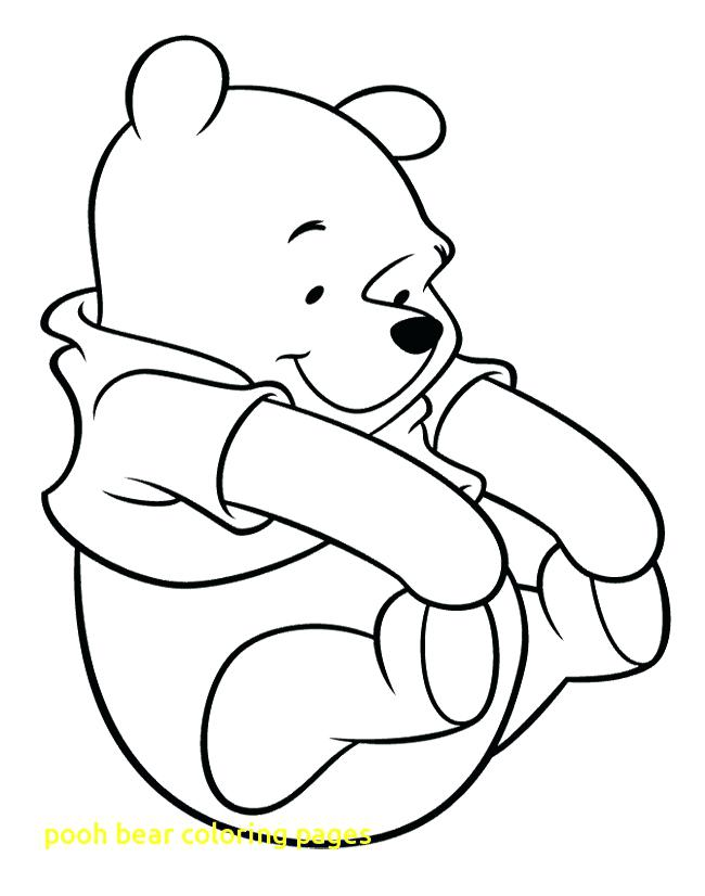 650x826 Pooh Bear Coloring Page Bear Color Page Baby Asleep In The Lap