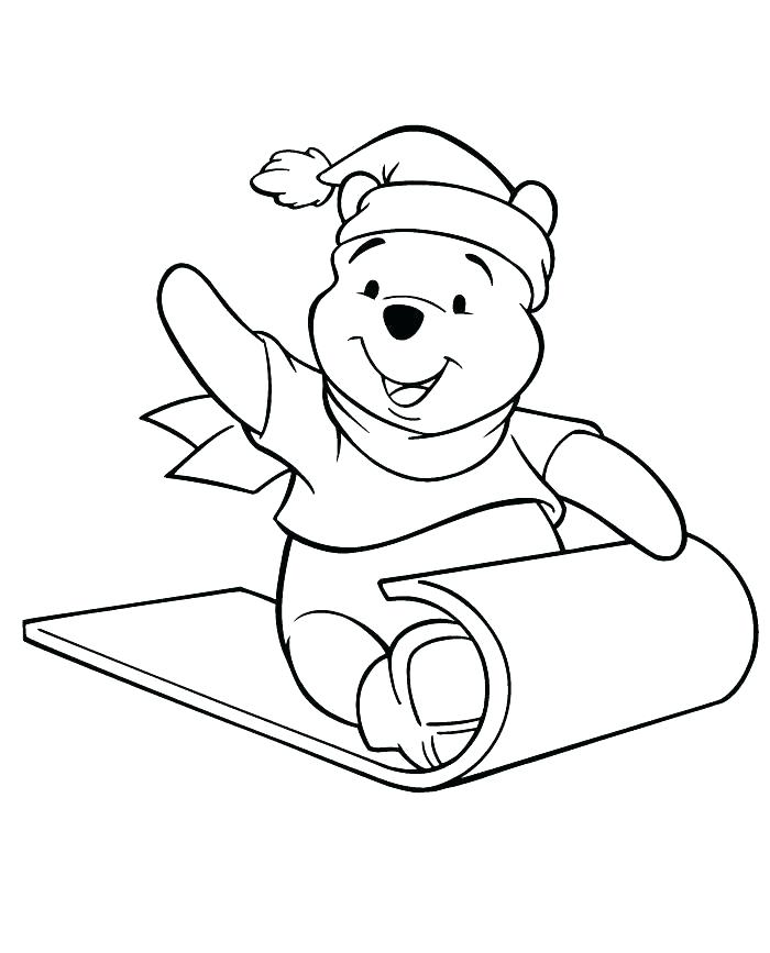 700x867 Pooh Bear Coloring Page Pooh Bear Easter Coloring Pages