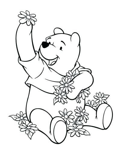 392x500 Pooh Bear Coloring Pages Baby Pooh Bear Coloring Pages Baby Bear