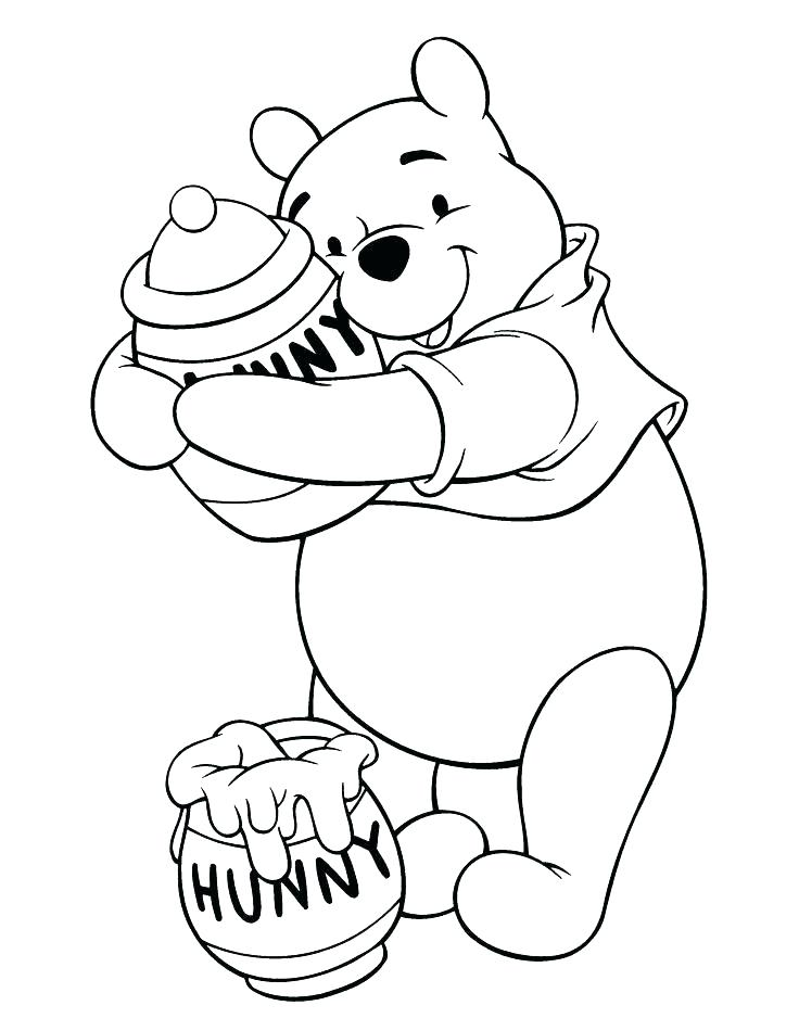 736x950 Pooh Bear Coloring Pages Stunning Pooh Bear Coloring Pages New