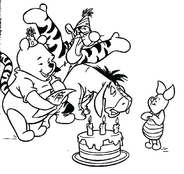 632x600 Pooh Bear Colouring Pages Online Pooh Bear Coloring Pages Baby
